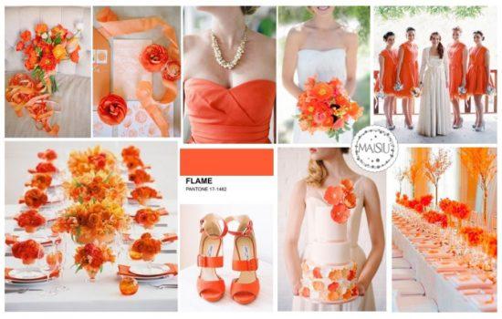 Matrimonio Arancio Flame