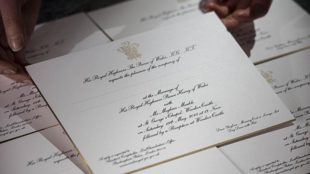 Partecipazioni Matrimonio Anni 70.Partecipazioni Di Nozze Reali Spunti E Idee Dall Ultimo Royal