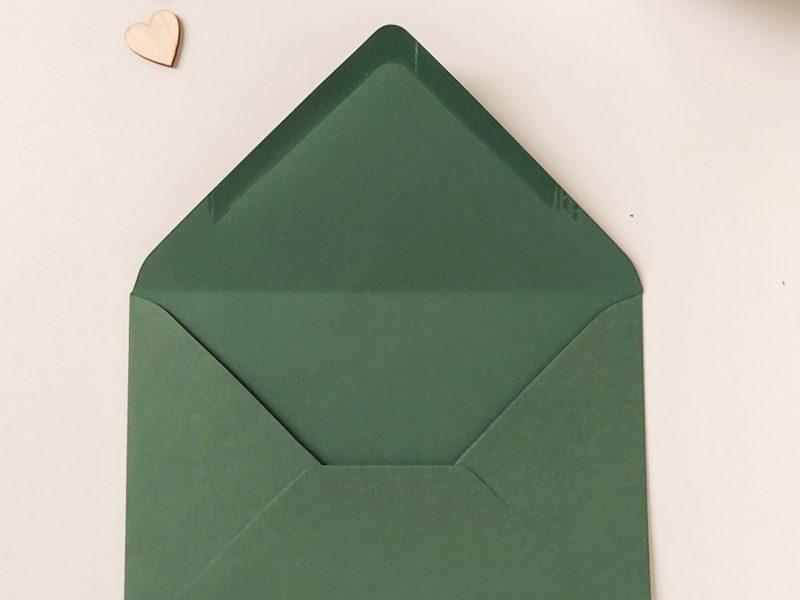 busta verde scuro